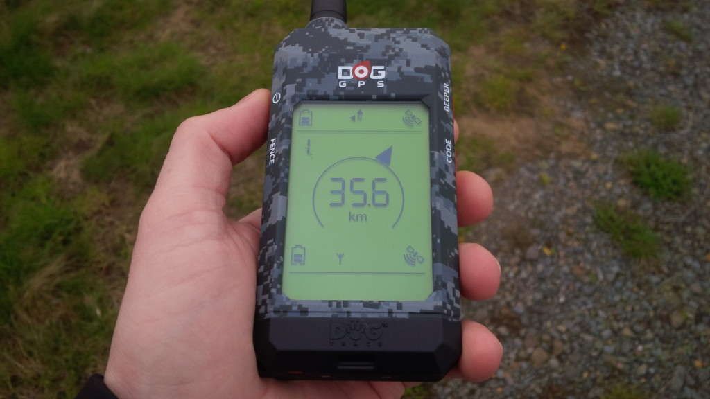 DOG GPS X20 mimo dosah