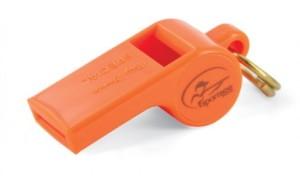 Píšťalka Roy Gonia Special s kuličkou oranžová2