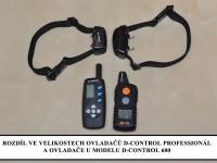 Elektronický výcvikový obojek d-control professional 1000 rozdíl D-control 600