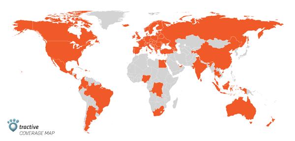tractiv mapa