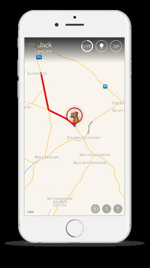 GPS vyhledávání psů