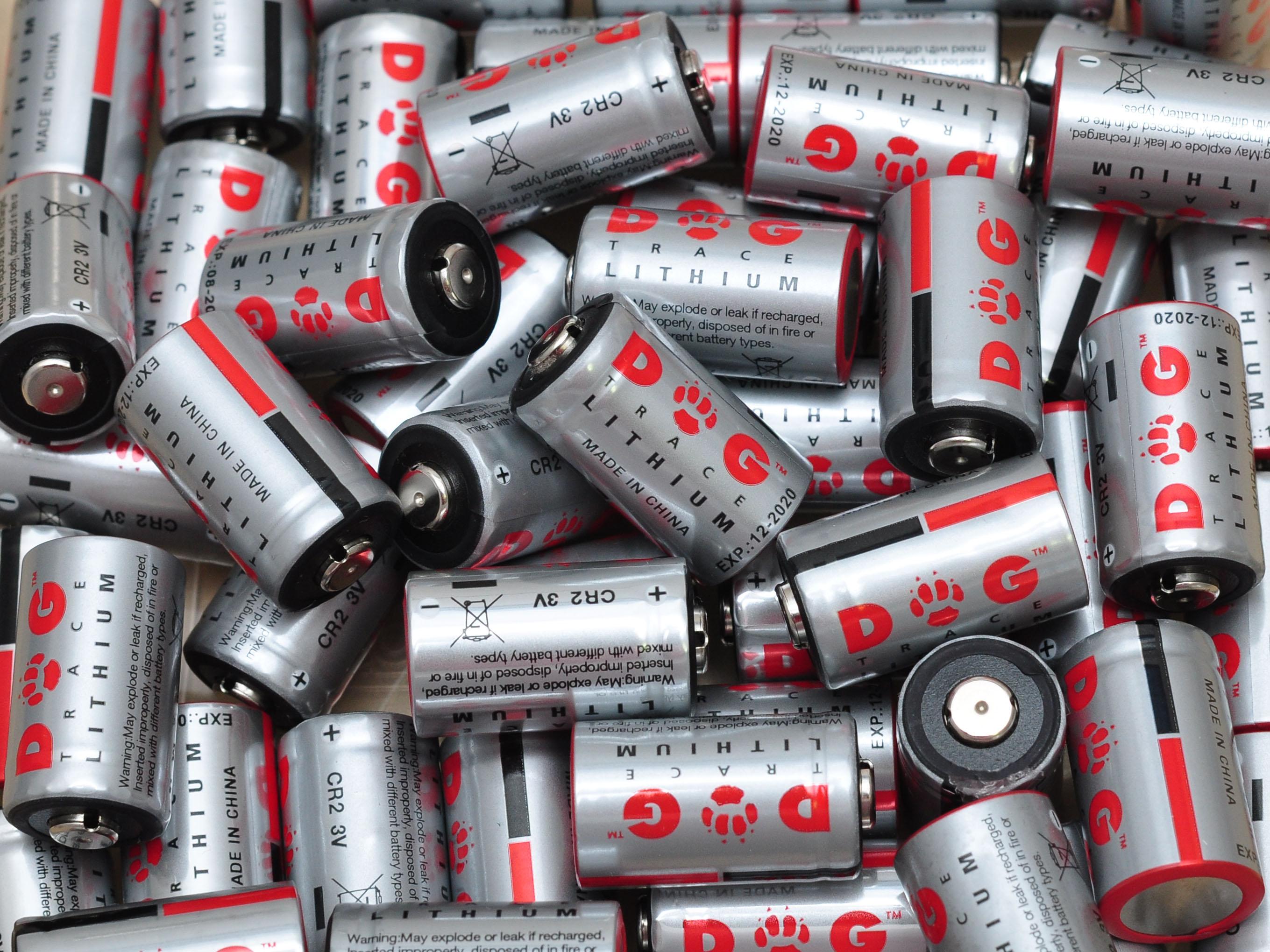 Výdrž lithiových baterii CR2 3V