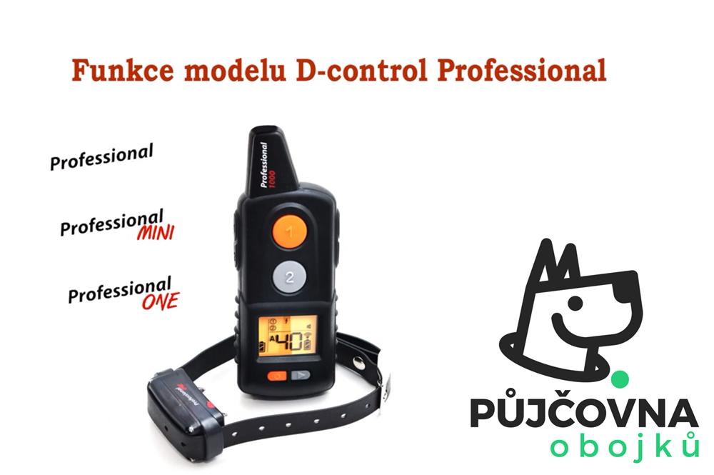 PŘEDSTAVENÍ VŠECH FUNKCÍ výcvikového obojku D-control professional