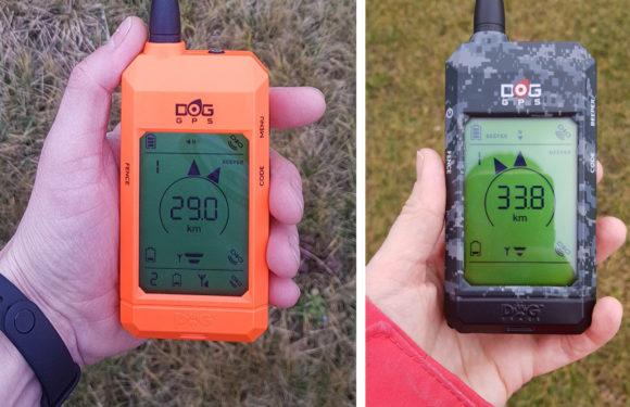 Test maximálního dosahu zařízení DOG GPS